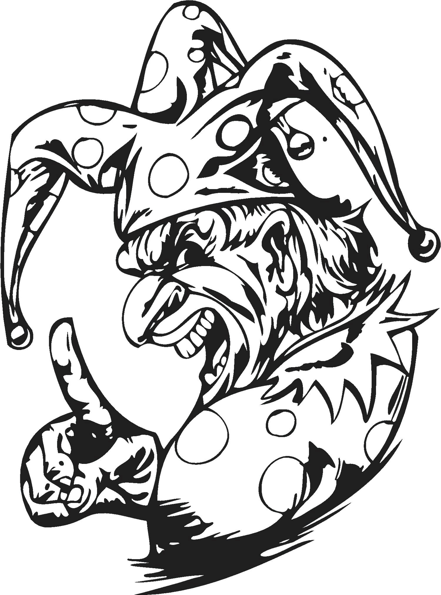 free clown coloring pages free printable clown coloring pages for kids free coloring clown pages