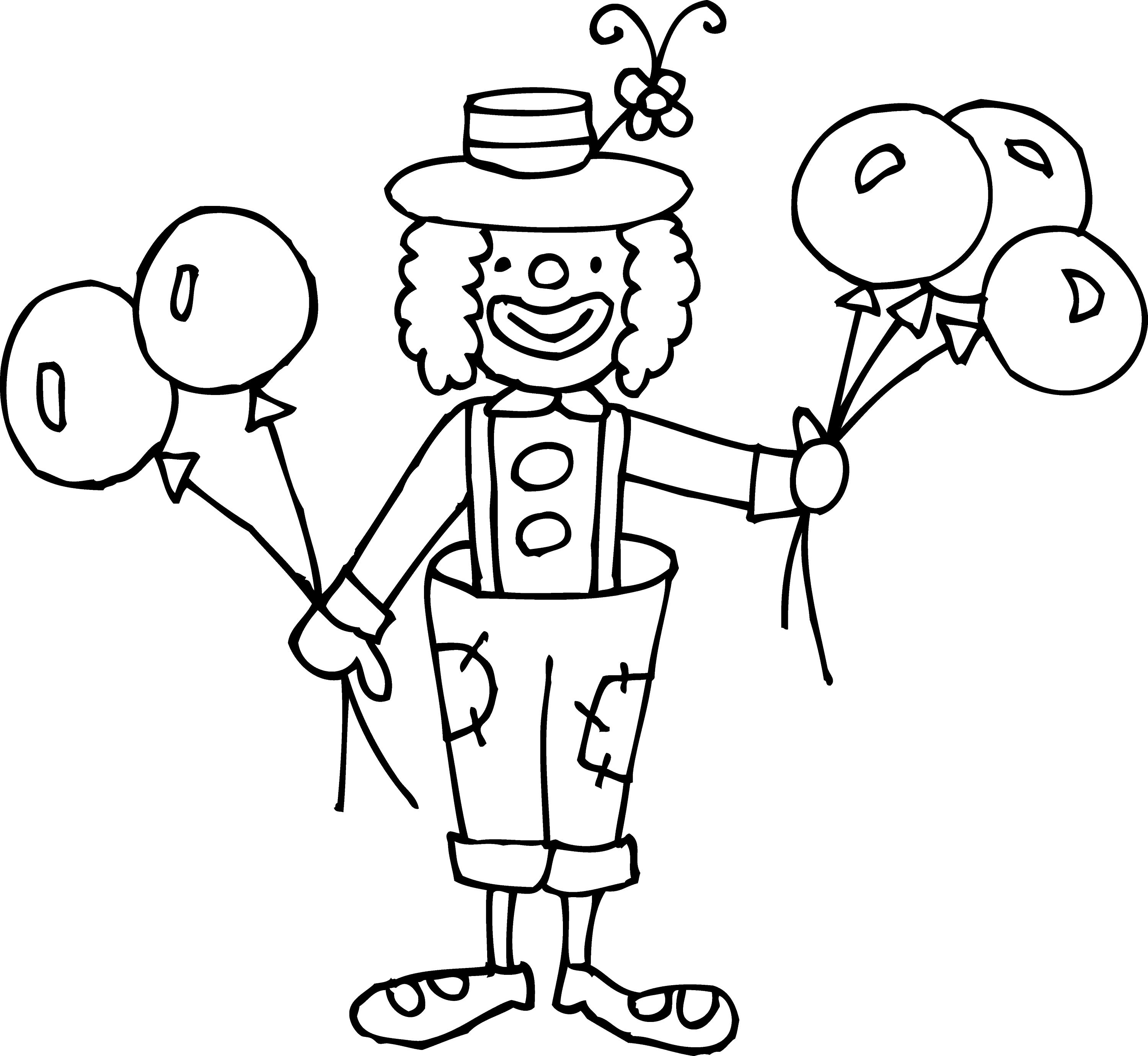 free clown coloring pages top 10 free printable funny clown coloring pages online coloring clown pages free