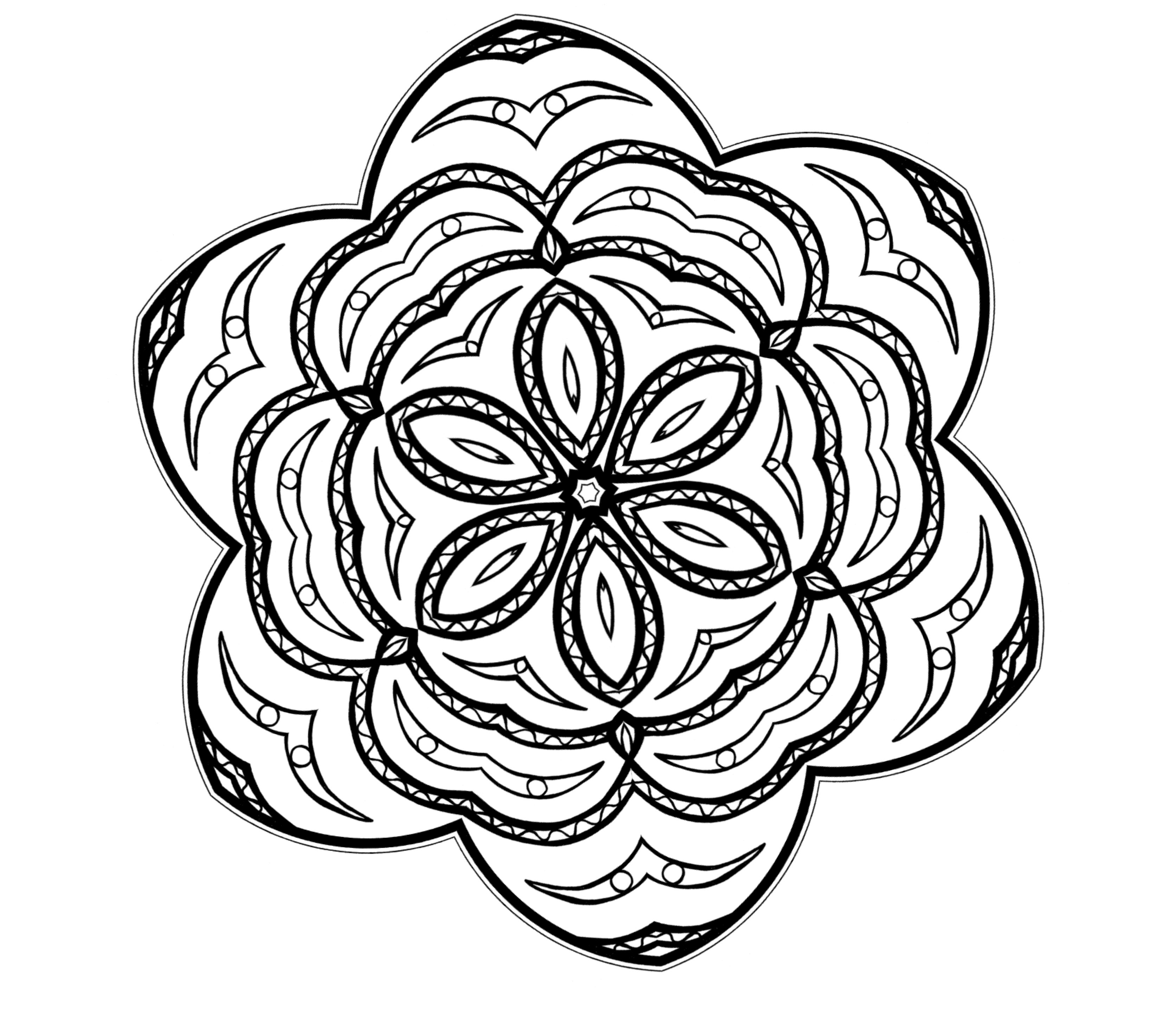 free coloring pages with designs free printable geometric coloring pages for adults designs with pages coloring free