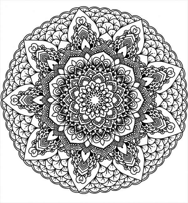 free coloring pages with designs free printable geometric coloring pages for adults pages coloring free designs with