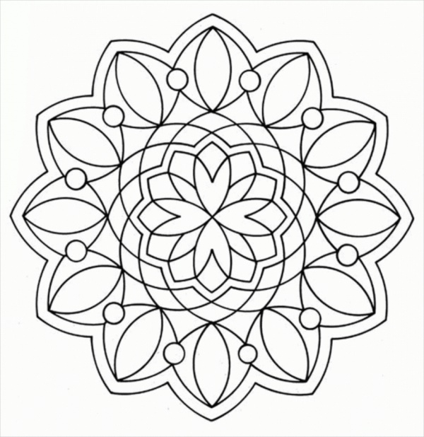 free coloring pages with designs geometric design coloring pages for adults free printable designs with coloring free pages
