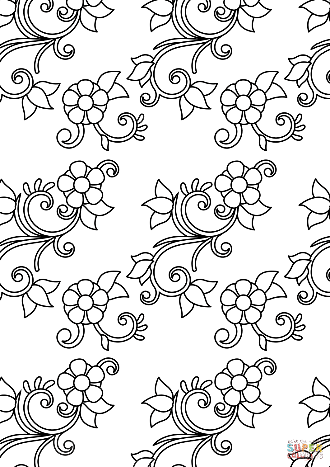 free coloring patterns 20 attractive coloring pages for adults we need fun free coloring patterns