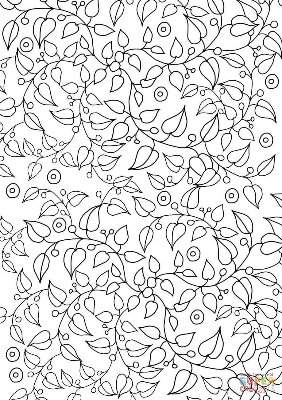 free coloring patterns floral pattern coloring page free printable coloring pages coloring free patterns