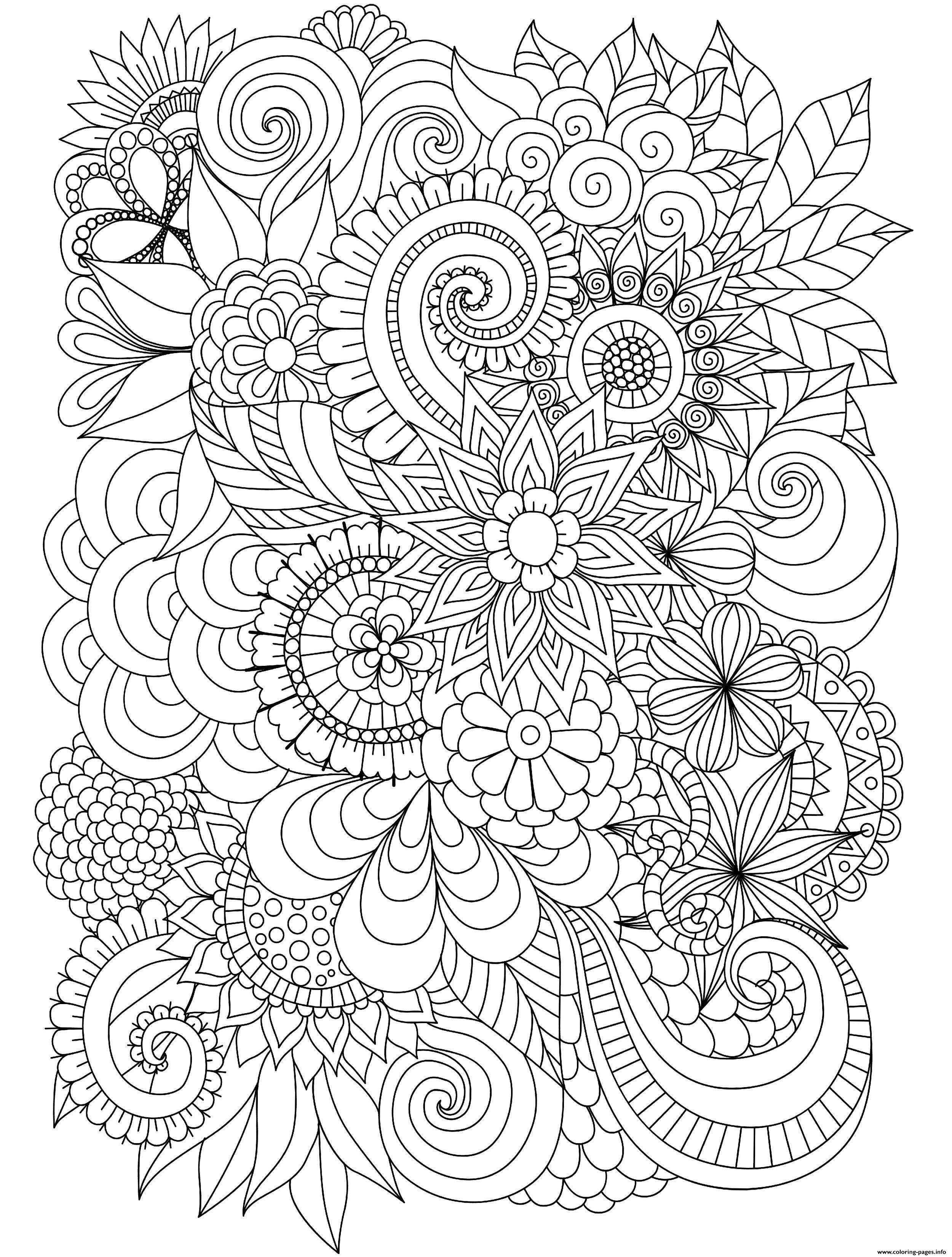 free complex coloring pages complex coloring pages for teens and adults best coloring complex pages free