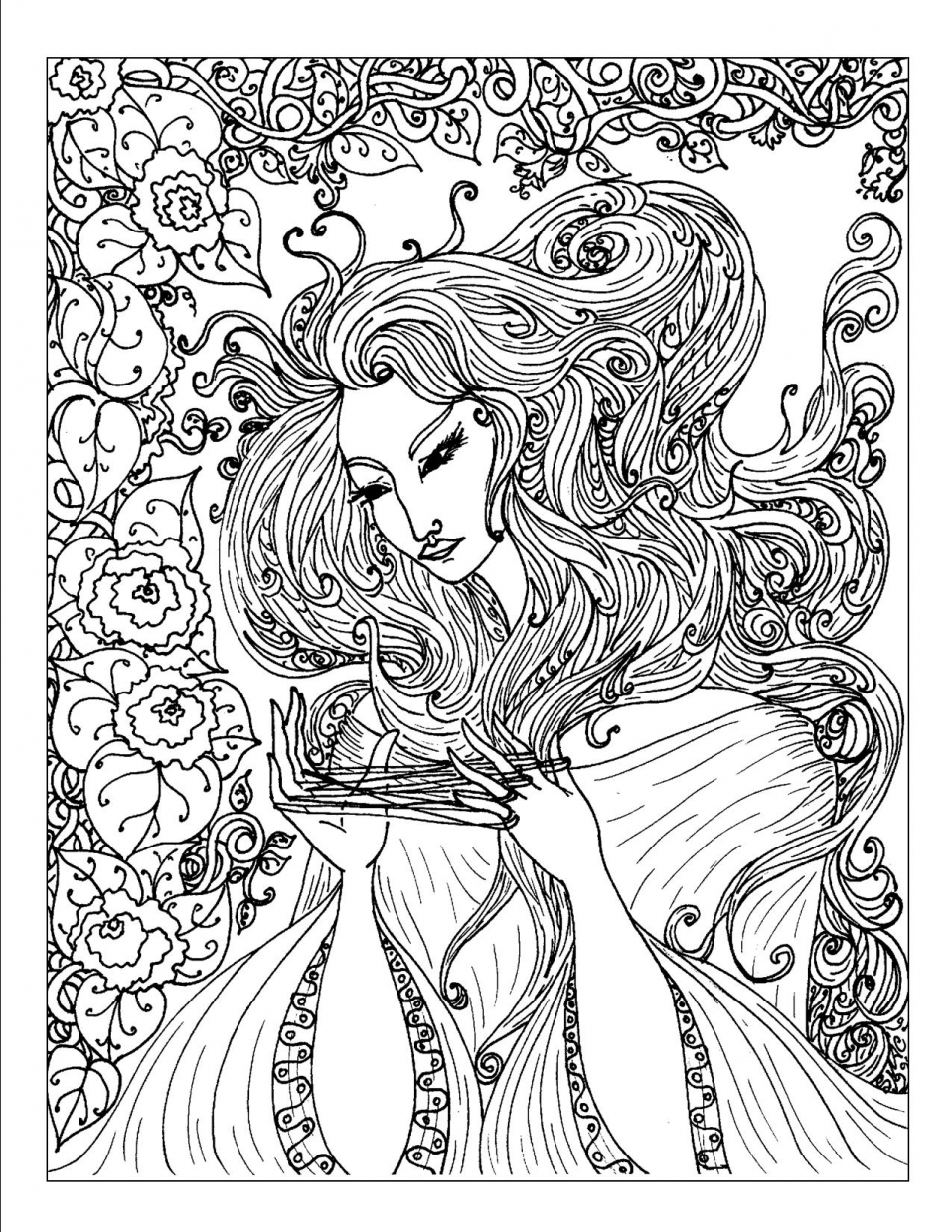 free complex coloring pages print download complex coloring pages for kids and adults free pages complex coloring