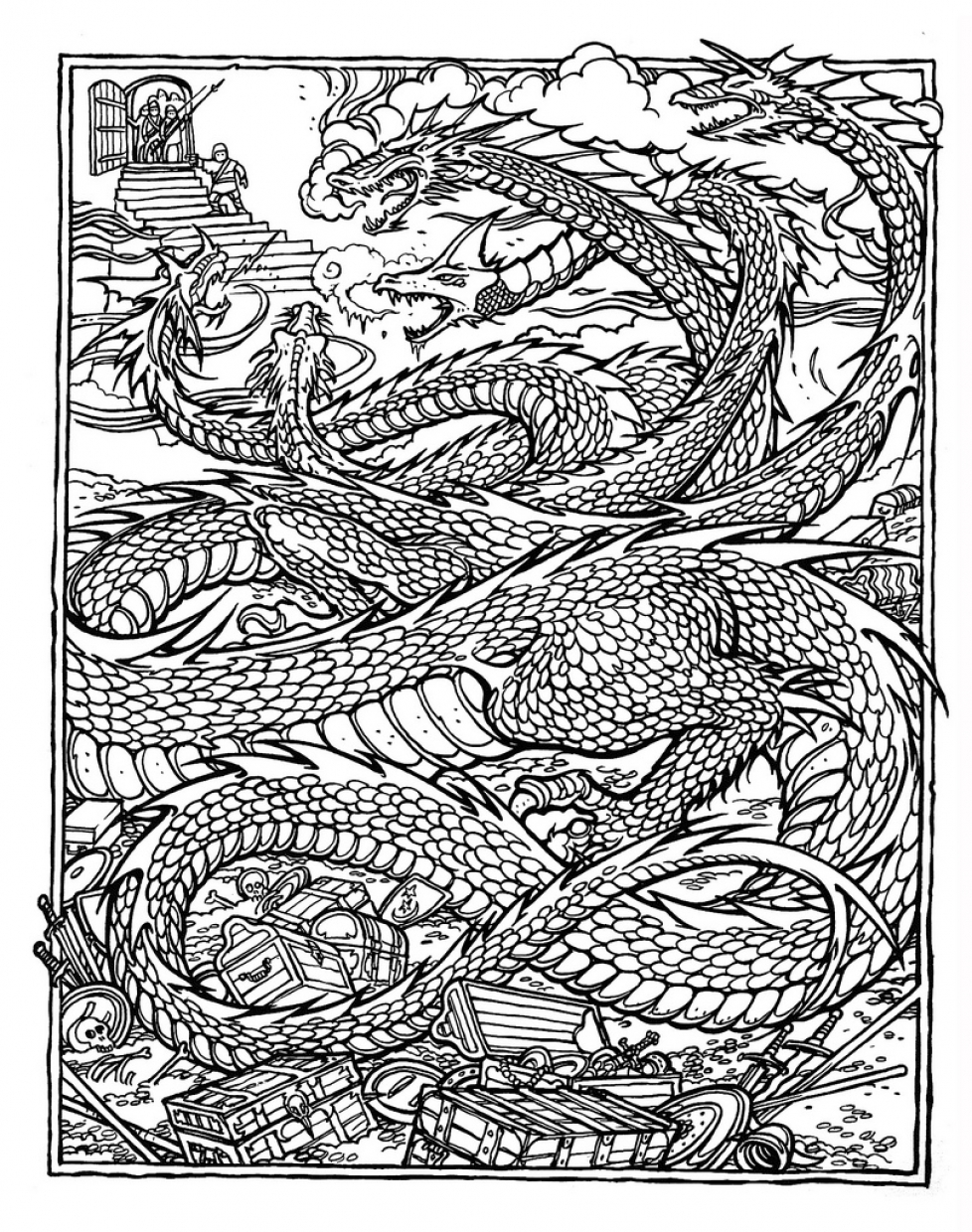 free complex coloring pages print download complex coloring pages for kids and adults pages complex free coloring