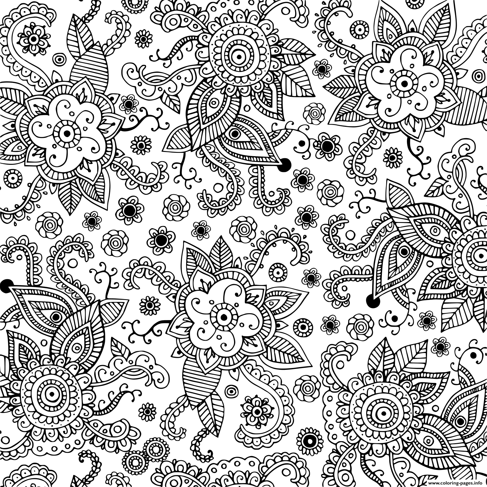 free doodle art to print and color seamless pattern for adults doodle graphic art coloring art free to print color and doodle