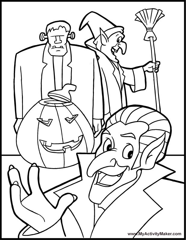 free halloween printable coloring pages free printable halloween coloring pages snippykit free coloring printable pages halloween