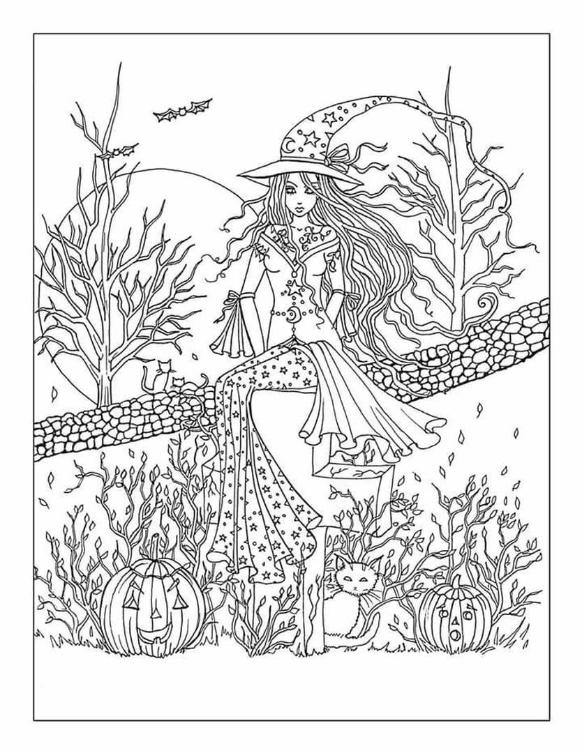 free halloween printable coloring pages free printable halloween coloring pages updated 2020 halloween coloring printable free pages