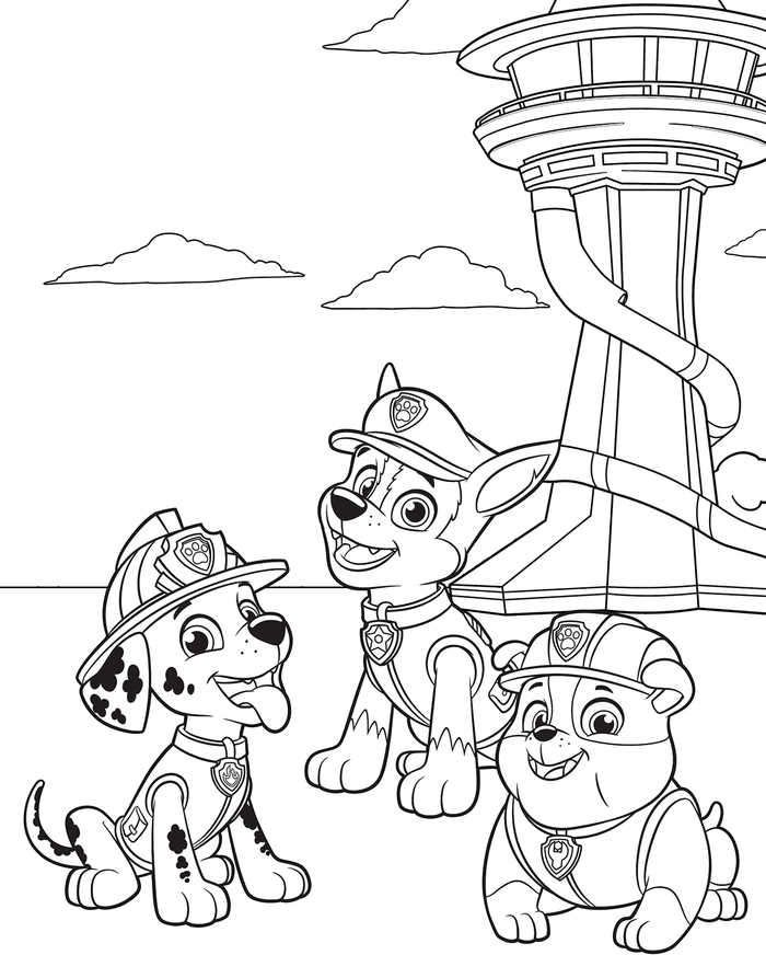 free paw patrol coloring pages get this paw patrol preschool coloring pages to print pages patrol free paw coloring