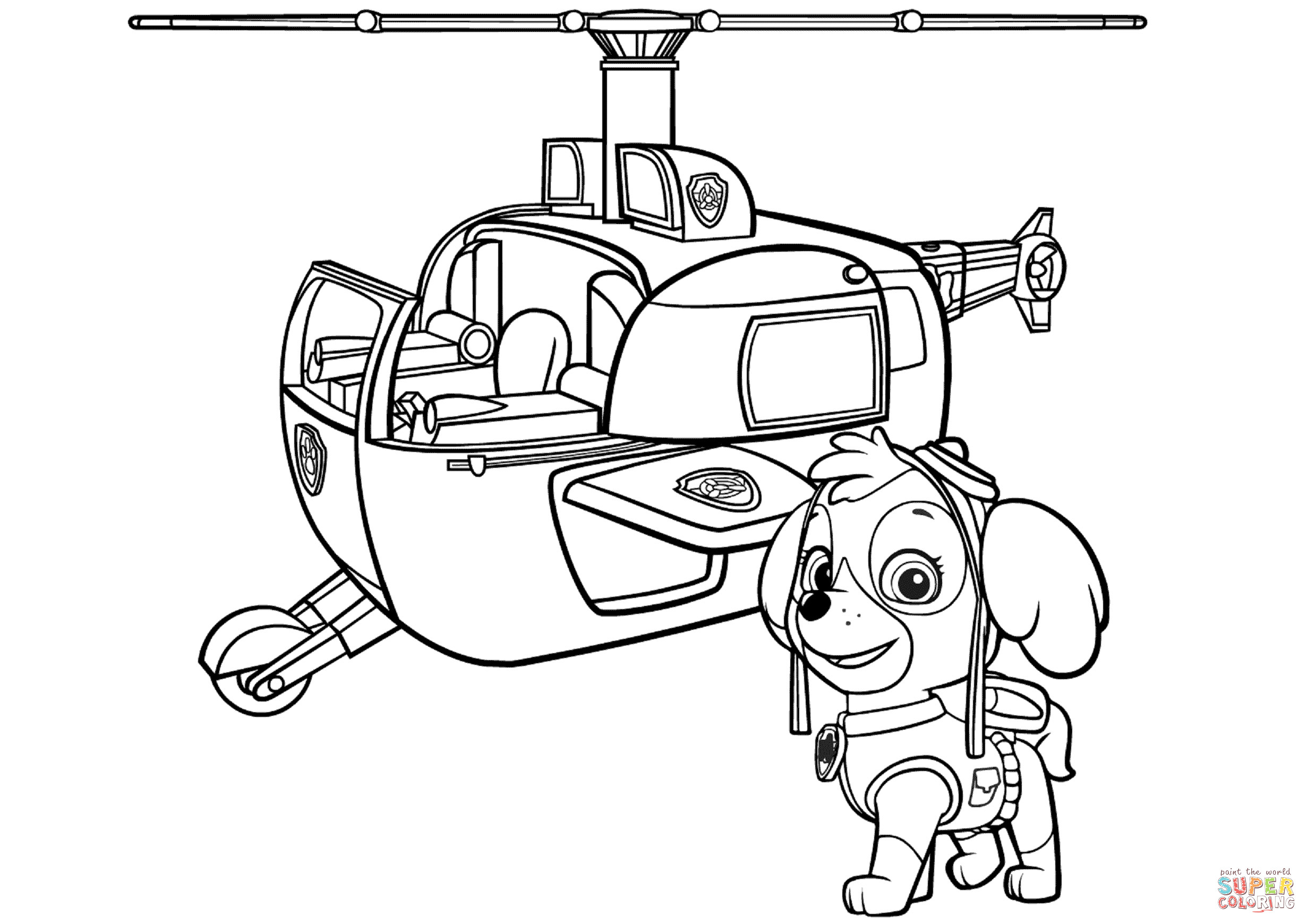 free paw patrol coloring pages paw patrol coloring pages printable free coloring sheets patrol paw pages coloring free