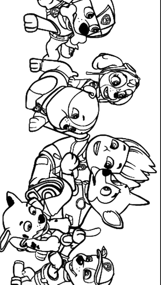 free paw patrol coloring pages pawpatrolcoloringpage11 paw coloring patrol free pages