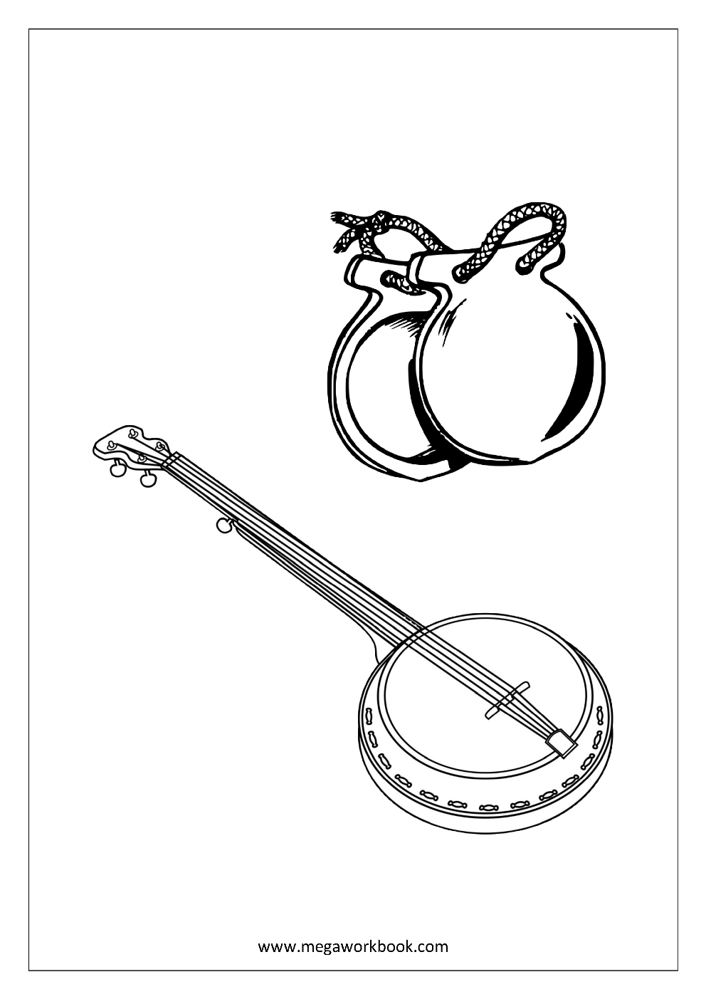 free printable coloring pages of musical instruments drum coloring page musical instruments free instruments coloring of pages musical printable