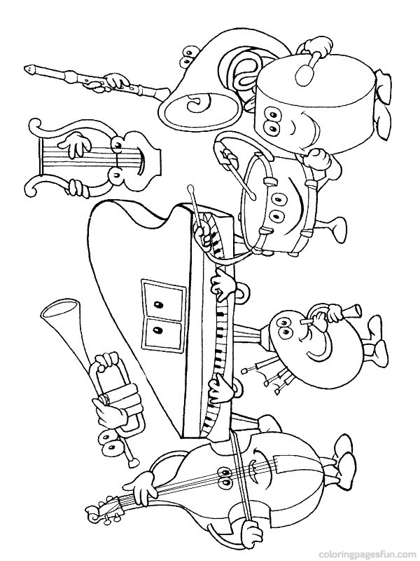 free printable coloring pages of musical instruments free coloring sheets musical instruments megaworkbook free instruments coloring of pages printable musical