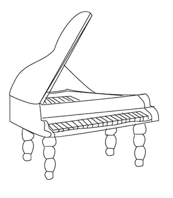 free printable coloring pages of musical instruments music instrument coloring page getcoloringpagescom free instruments printable musical of coloring pages