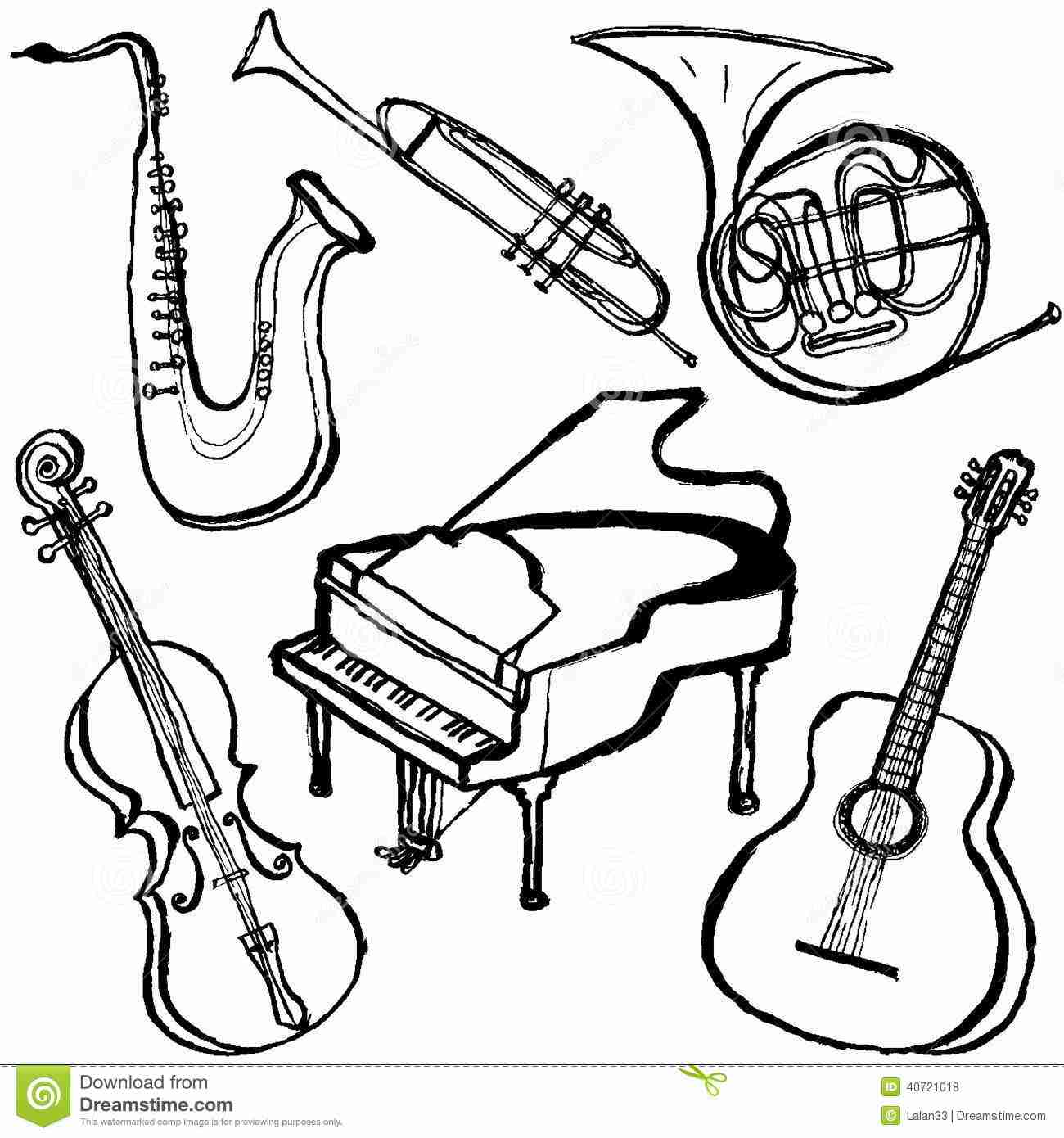 free printable coloring pages of musical instruments musical instrument coloring pages print out coloring home coloring musical of free instruments pages printable