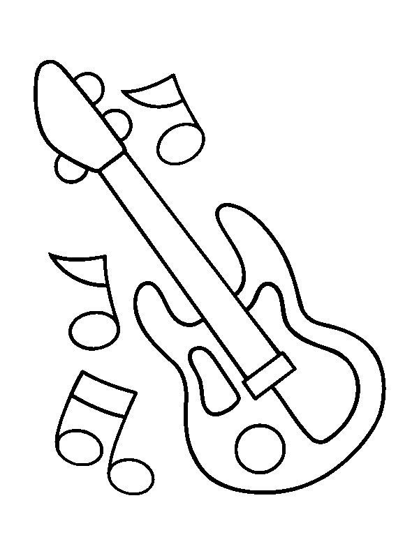 free printable coloring pages of musical instruments musical instrument coloring pages print out coloring home printable free instruments pages musical of coloring