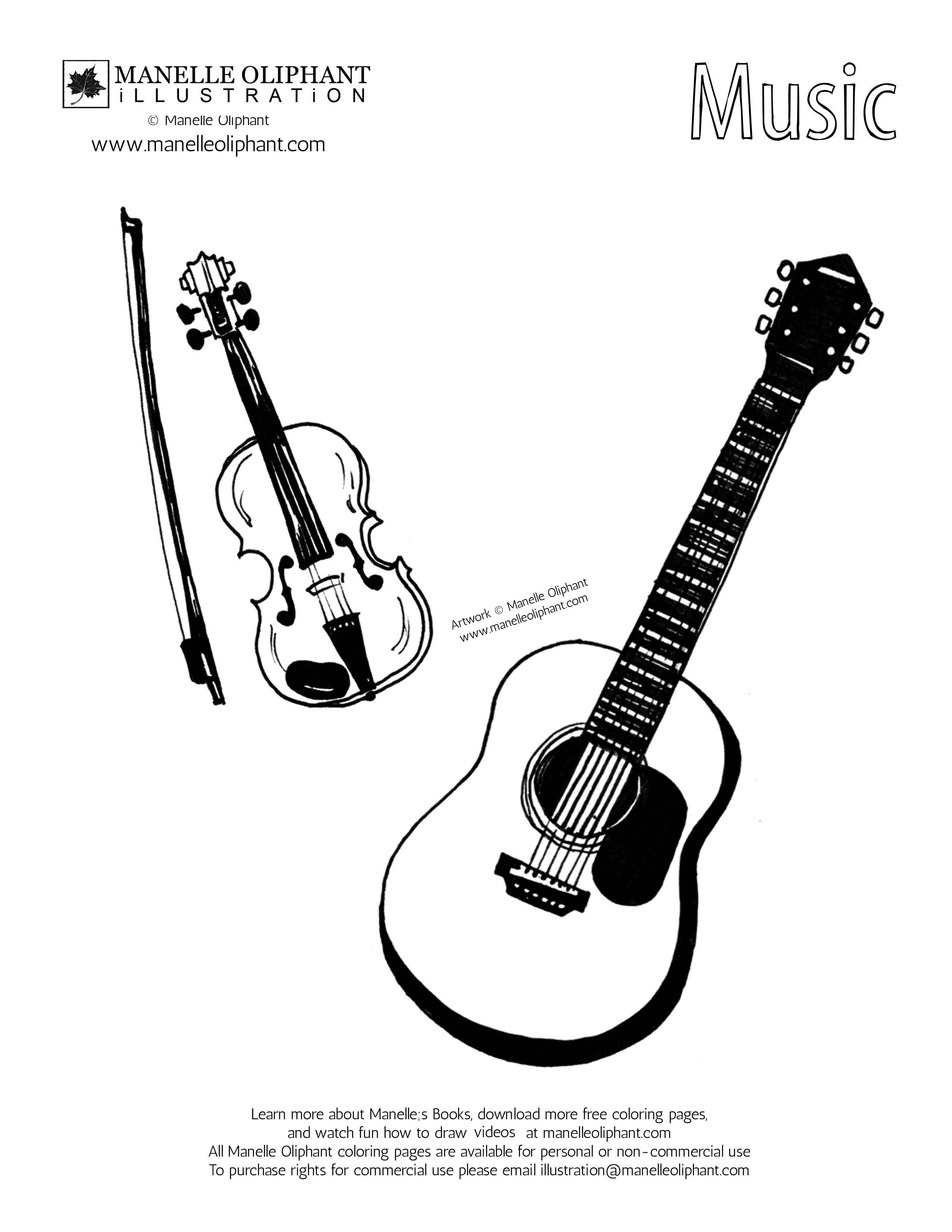 free printable coloring pages of musical instruments musical instruments coloring page coloring pages music instruments pages free musical coloring printable of