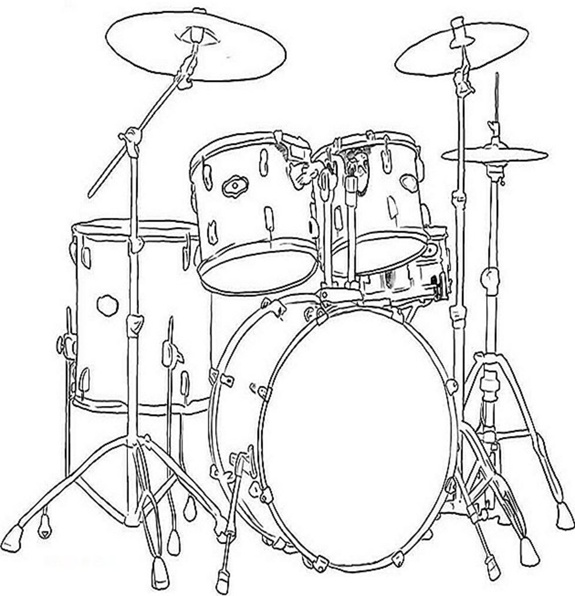 free printable coloring pages of musical instruments musical instruments coloring pages 11 jazz pinterest of printable musical pages instruments coloring free