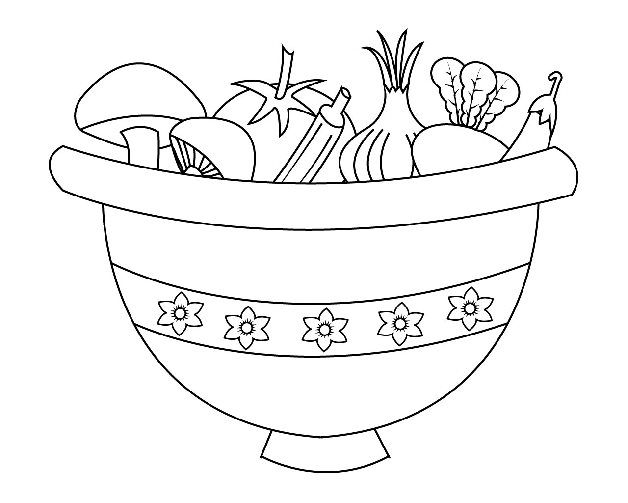 free printable coloring pages of vegetables free vegetables coloring page printable of coloring pages free vegetables