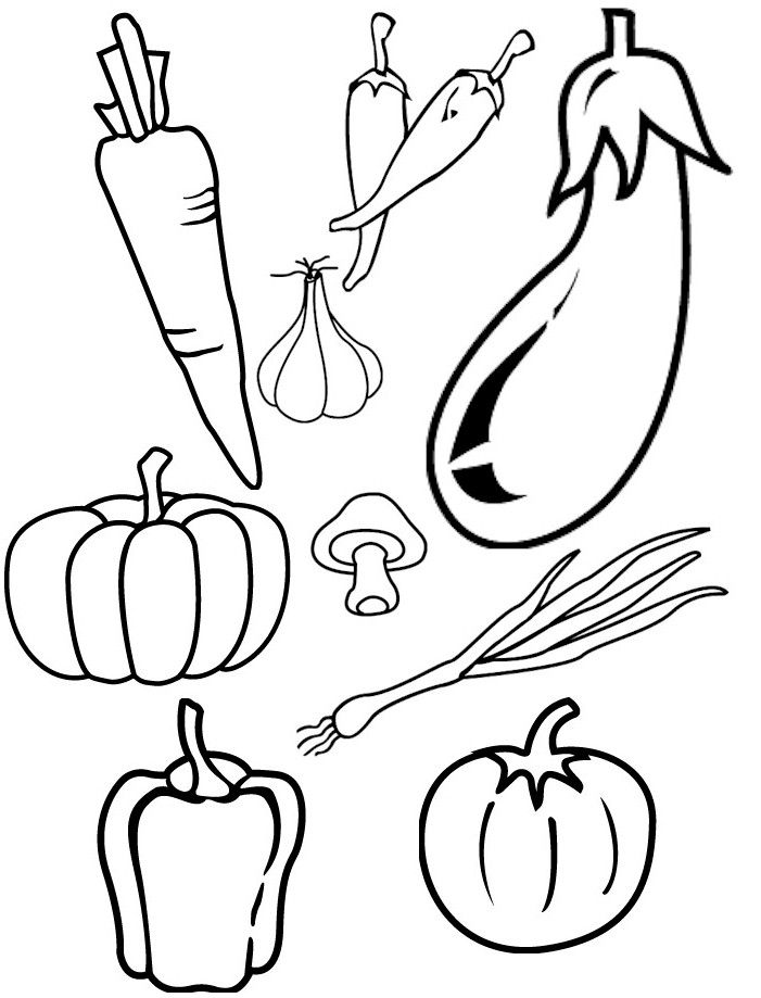 free printable coloring pages of vegetables vegetable coloring pages for childrens printable for free free vegetables printable coloring pages of