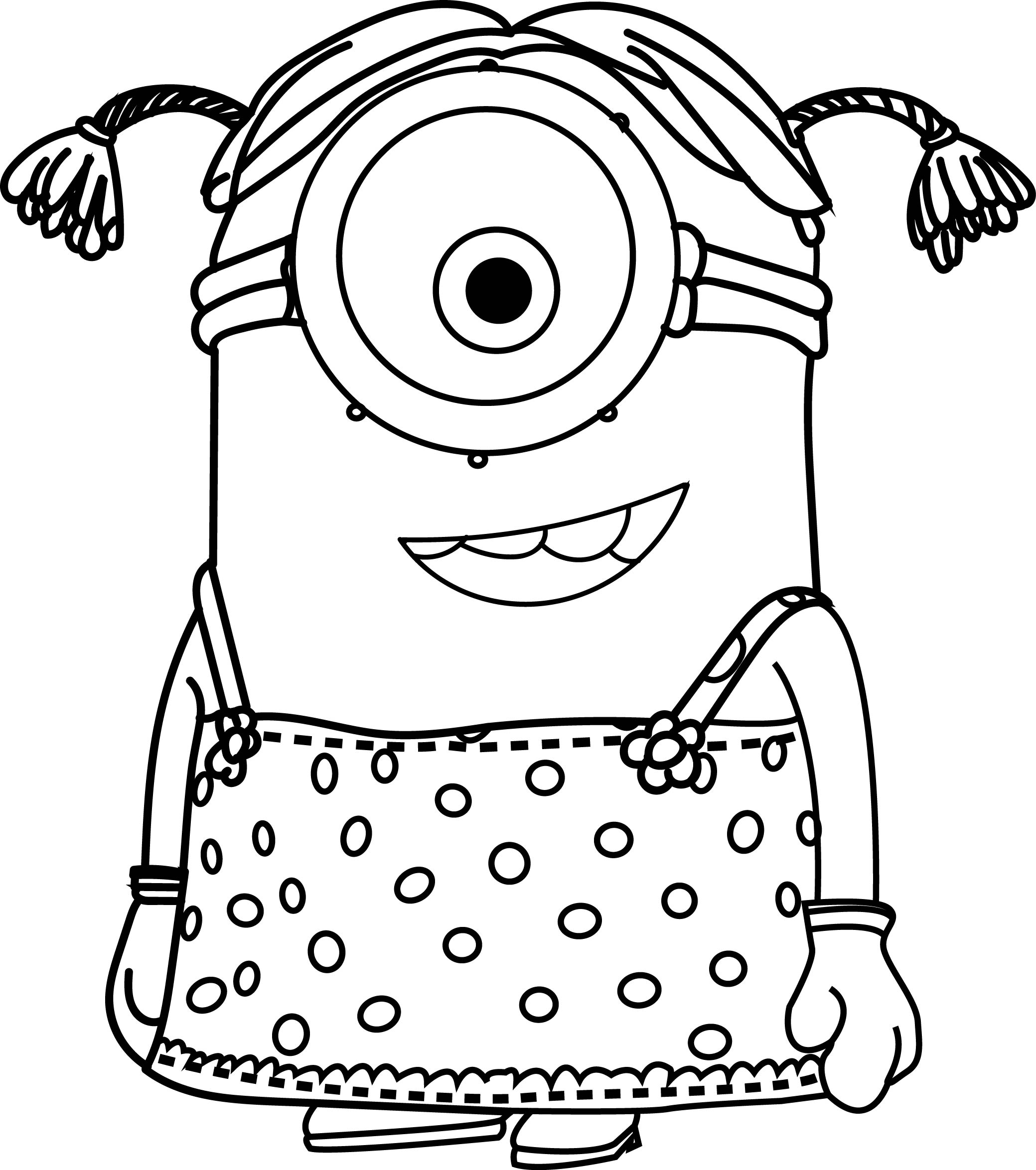 free printable minion pictures easy minion coloring pages at getcoloringscom free pictures printable minion free