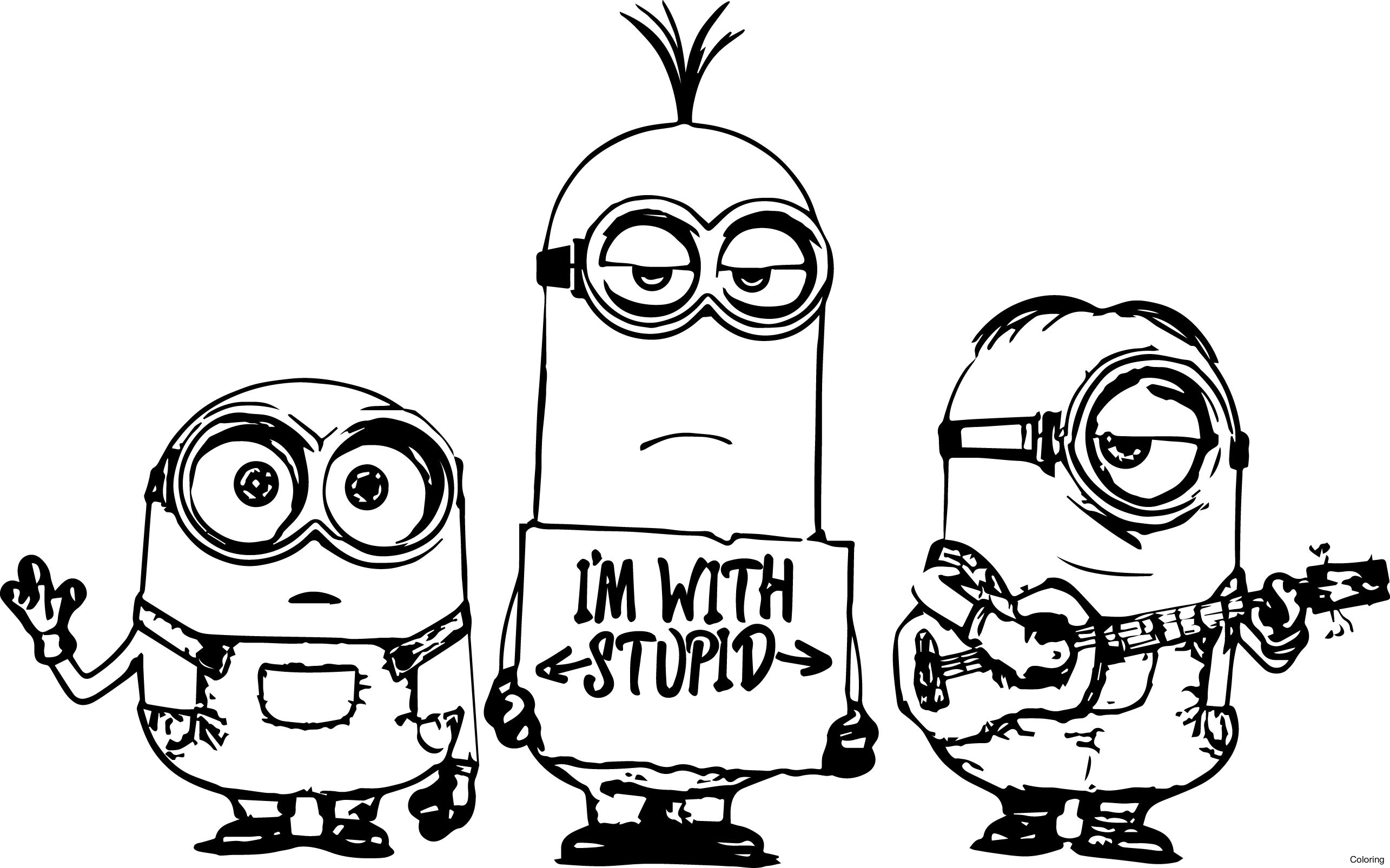 free printable minion pictures free coloring pages printable pictures to color kids printable free pictures minion