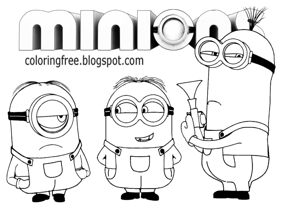 free printable minion pictures minion clipart color 20 free cliparts download images on pictures printable minion free