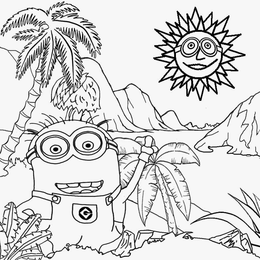 free printable minion pictures printable minion coloring pages at getcoloringscom free minion printable pictures free
