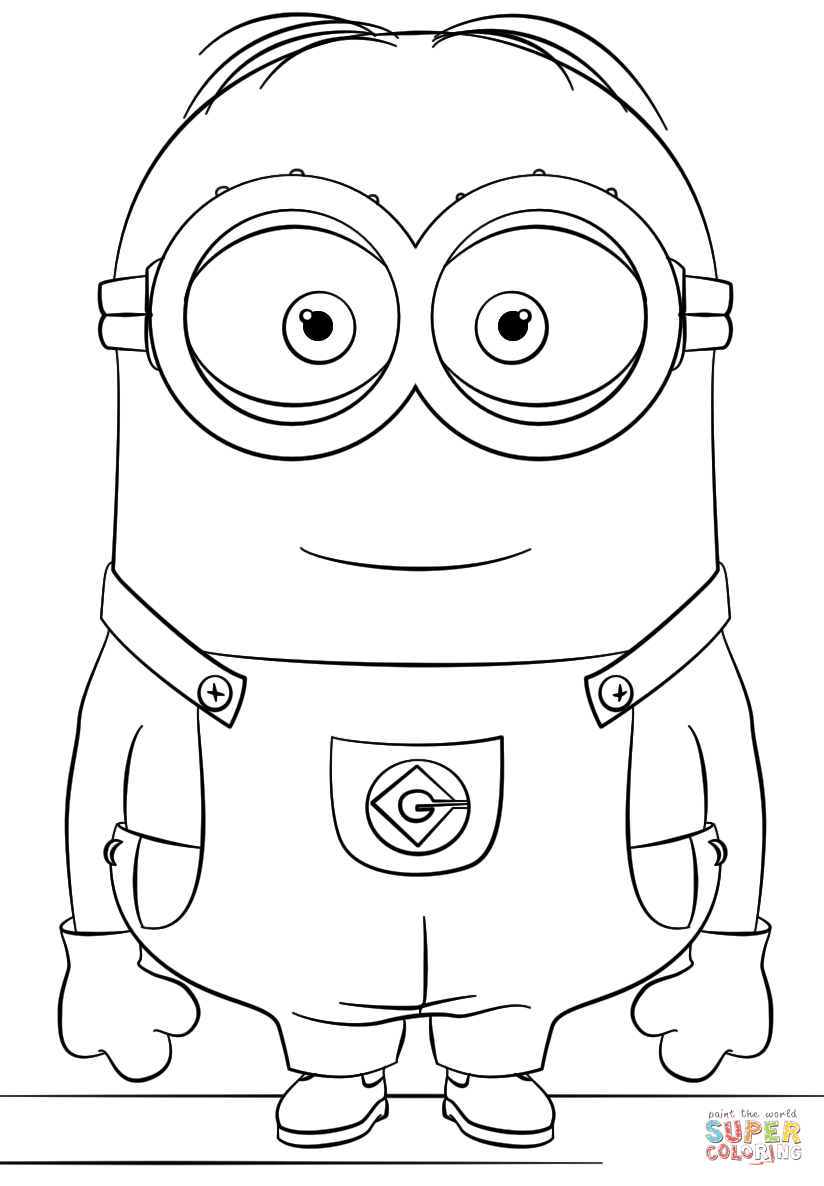free printable minion pictures purple minion coloring page at getcoloringscom free minion printable pictures free