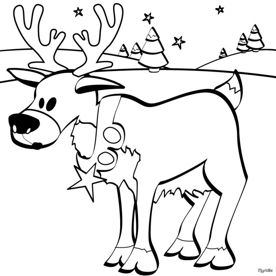 free printable reindeer coloring pages reindeer coloring page for kids image animal place pages reindeer free printable coloring