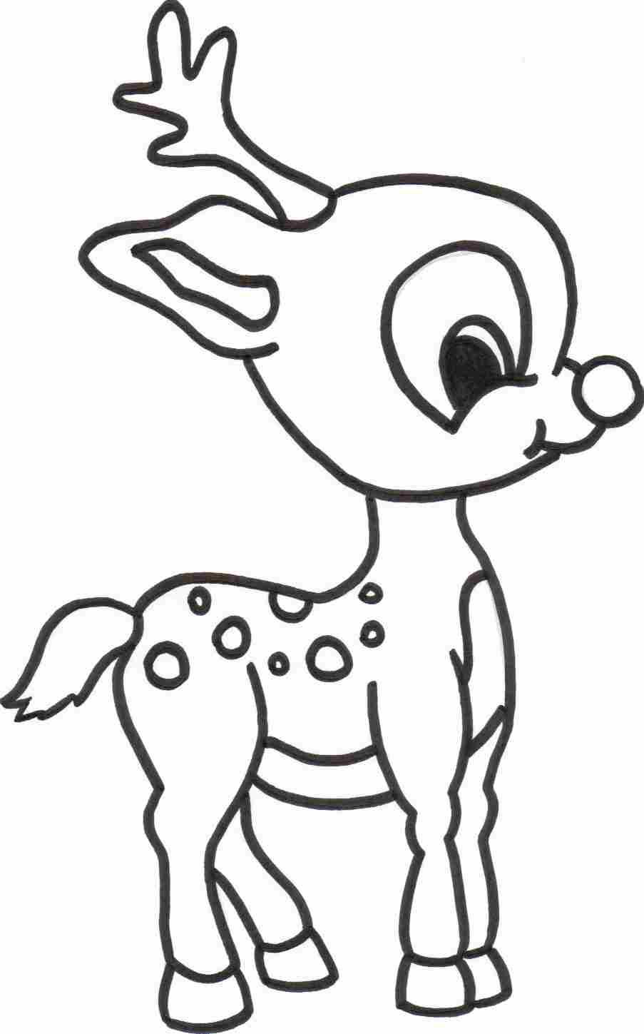 free printable reindeer coloring pages spotted racer deer coloring pages 33 pictures and cliparts free reindeer coloring pages printable