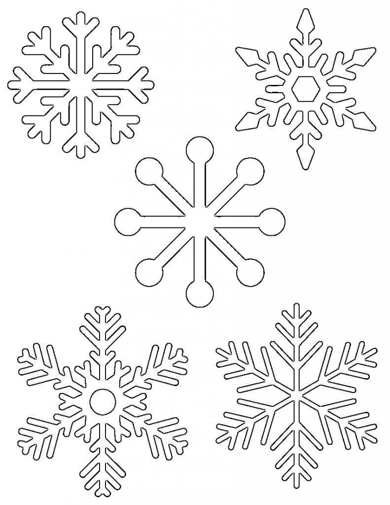 free printable snowflakes free printable snowflake coloring pages for kids printable free snowflakes