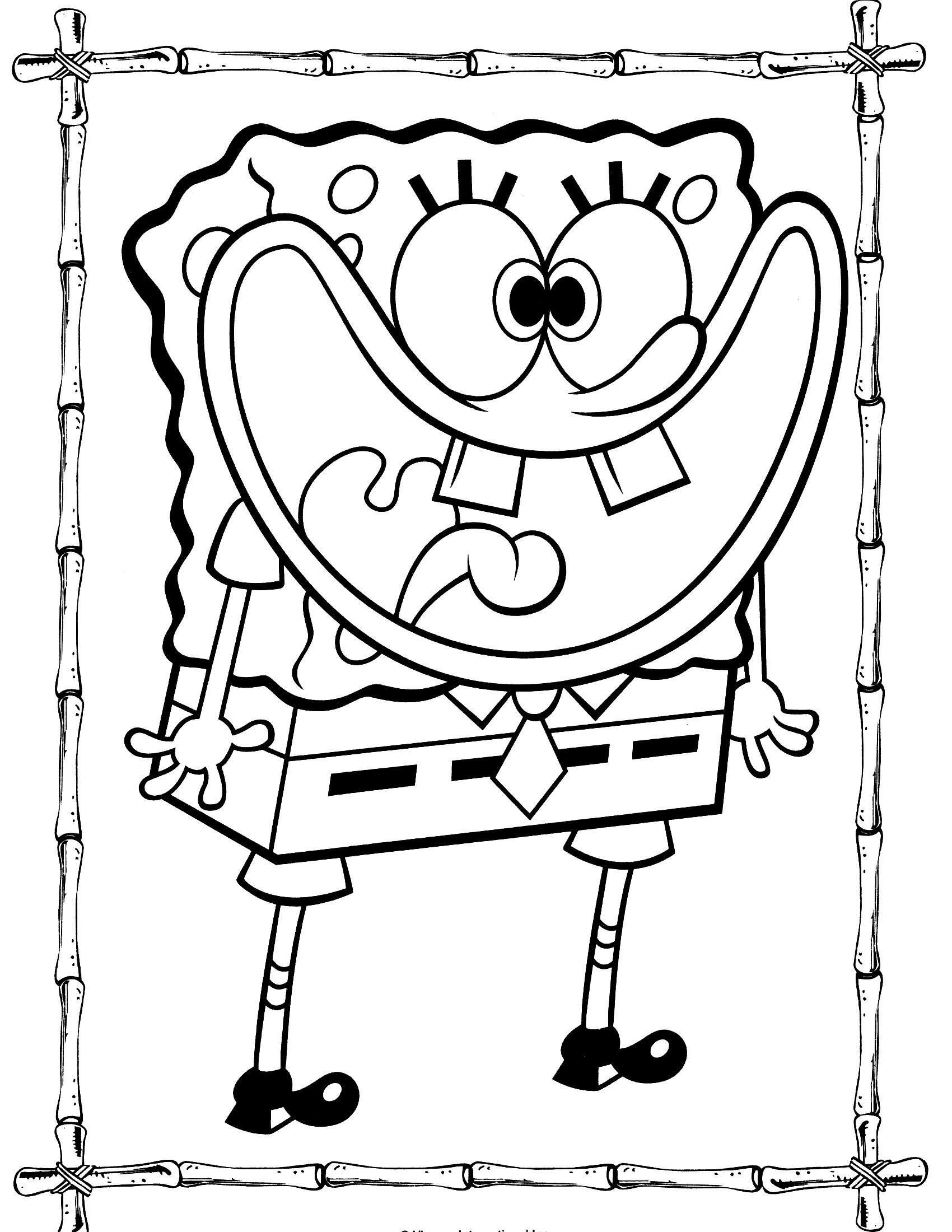 free printable spongebob coloring pages funny spongebob coloring pages at getdrawings free download coloring printable free spongebob pages