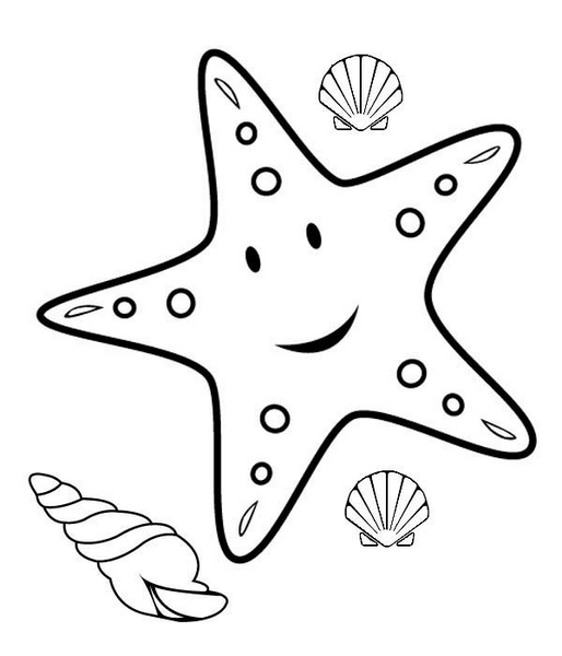 free printable starfish coloring pages free printable starfish coloring pages for kids pages printable coloring free starfish