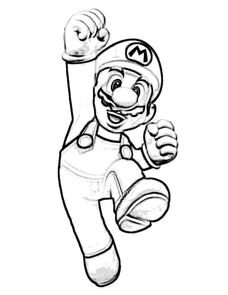 free printable super mario coloring pages coloring pages mario coloring pages free and printable printable free mario coloring super pages