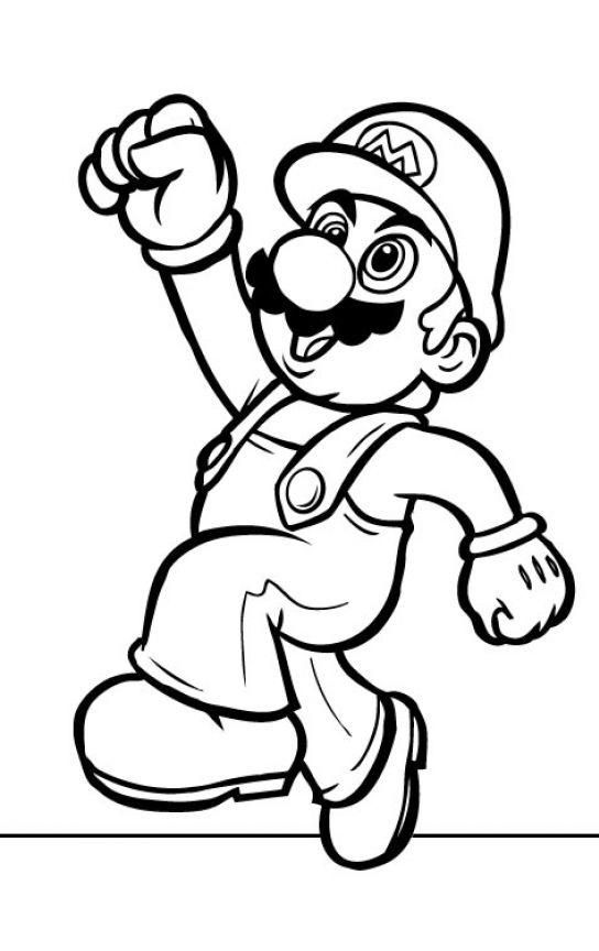 free printable super mario coloring pages super paper mario coloring pages at getdrawings free super coloring free mario pages printable