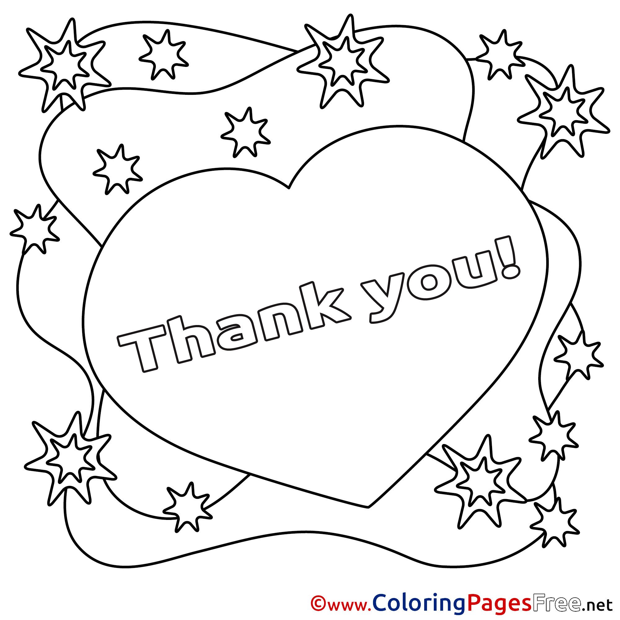 free thank you coloring pages heart printable coloring pages thank you coloring pages thank you free