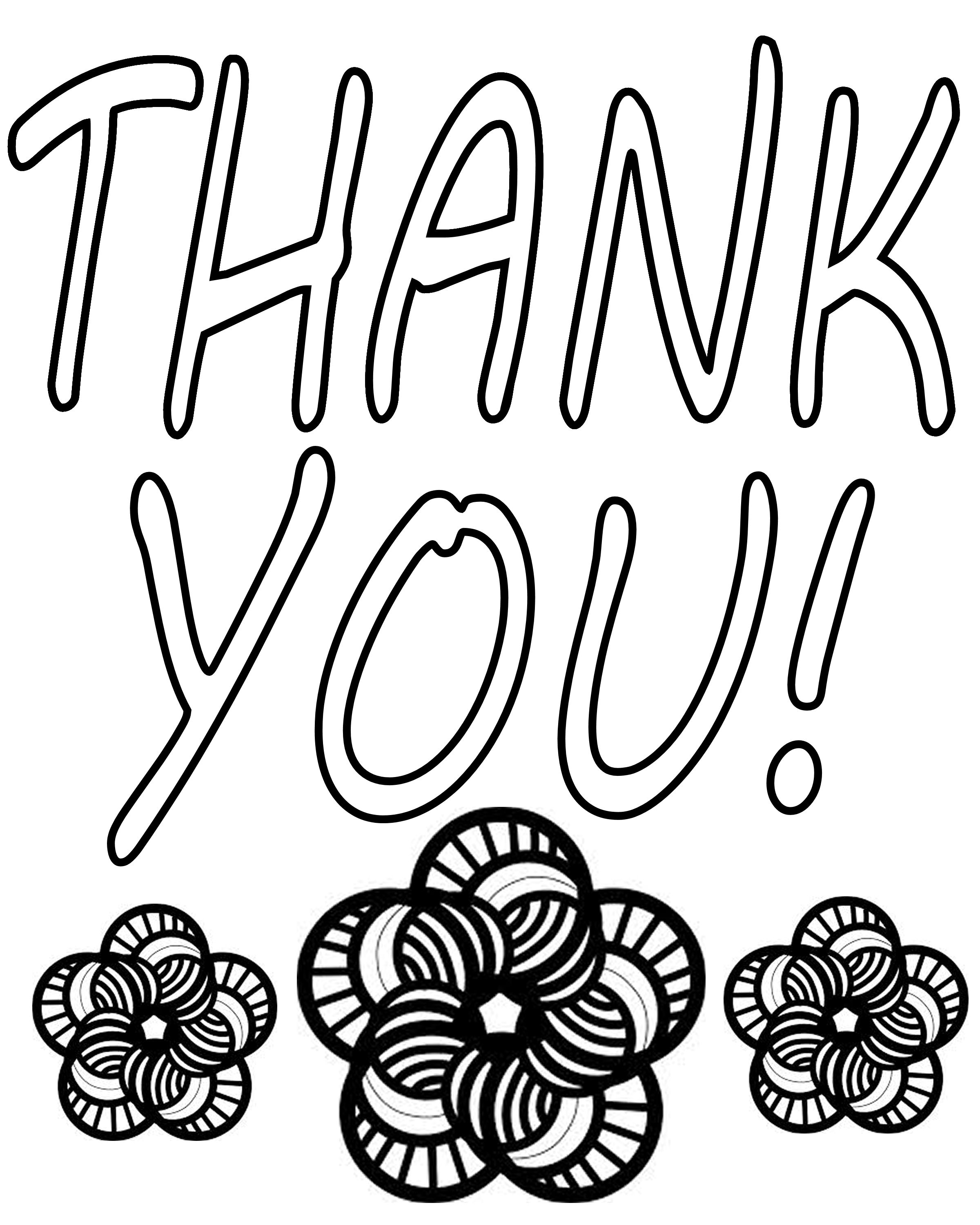 free thank you coloring pages thank you coloring pages free printable online thank you pages coloring thank free you