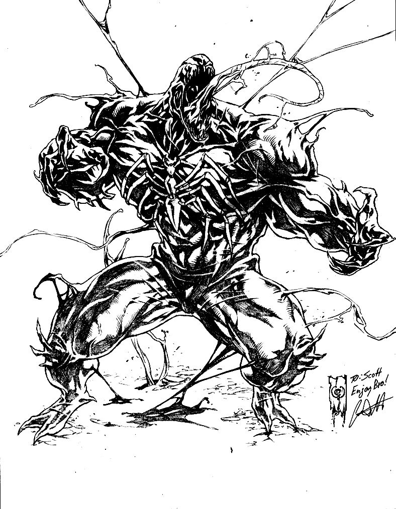 free venom coloring pages venom coloring pages by profoundrounds clip art library free coloring pages venom