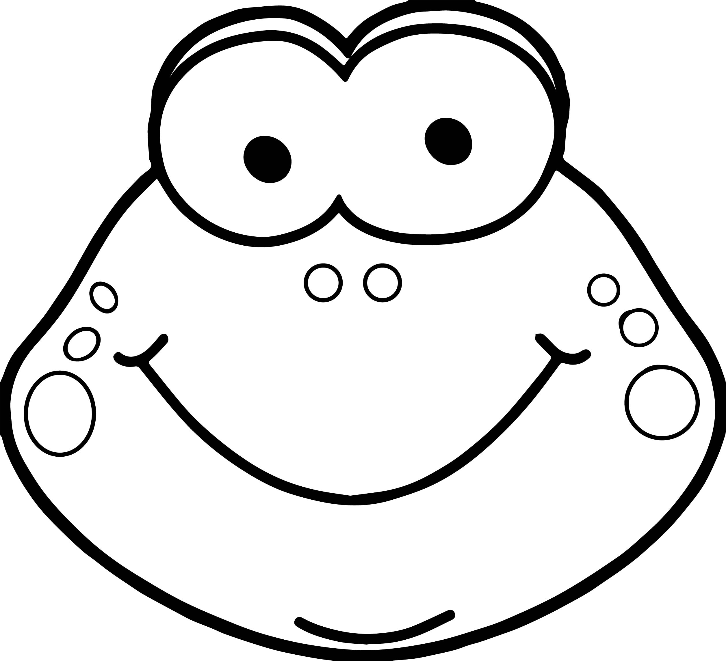frog face coloring page face frog coloring pages print coloring 2019 page frog face coloring