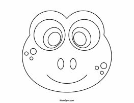 frog face coloring page frog coloring pages getcoloringpagescom coloring face frog page