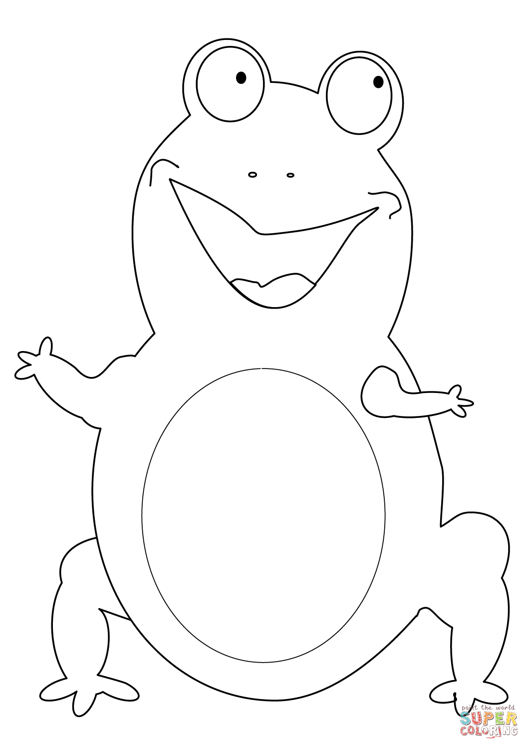 frog face coloring page frog coloring pages getcoloringpagescom page face coloring frog