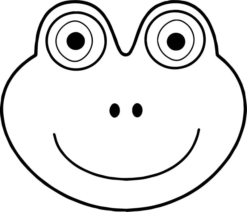 frog face coloring page frog face drawing at getdrawings free download face coloring page frog