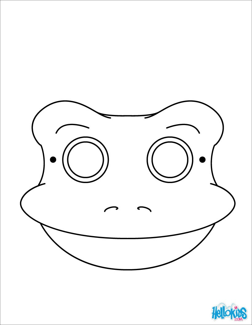 frog face coloring page frog face drawing at paintingvalleycom explore coloring face frog page