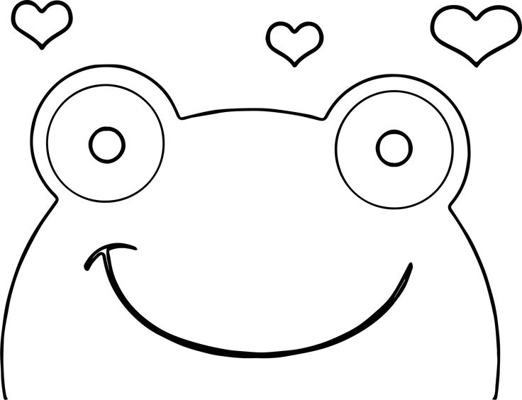 frog face coloring page reptiles amphibians coloring pages hubpages coloring frog face page