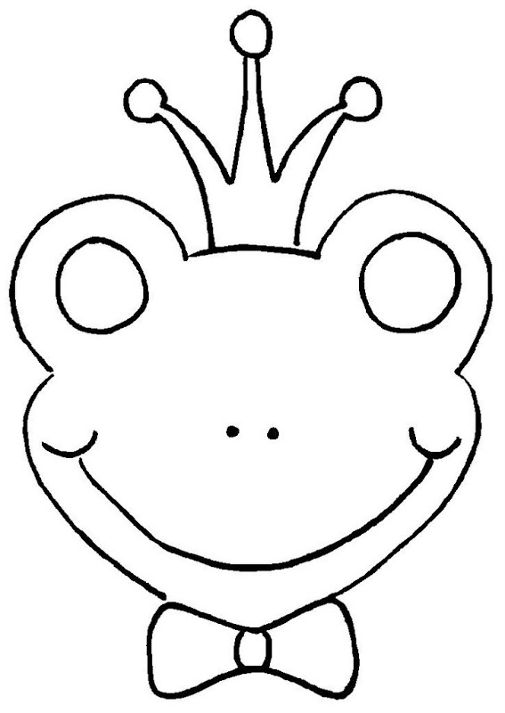 frog face coloring page simple frog drawing free download on clipartmag frog coloring face page