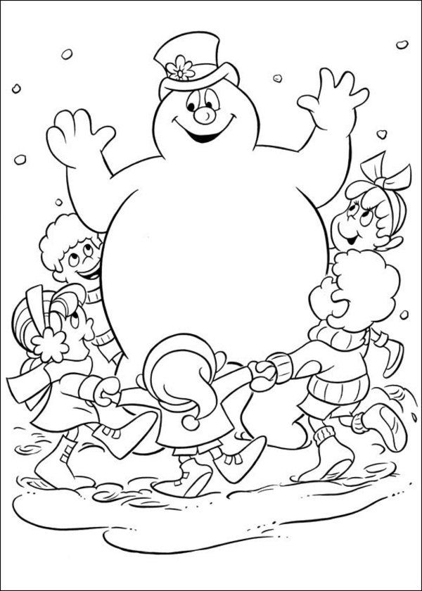 frosty the snowman printable coloring pages 27 free frosty the snowman coloring pages printable pages the frosty coloring snowman printable