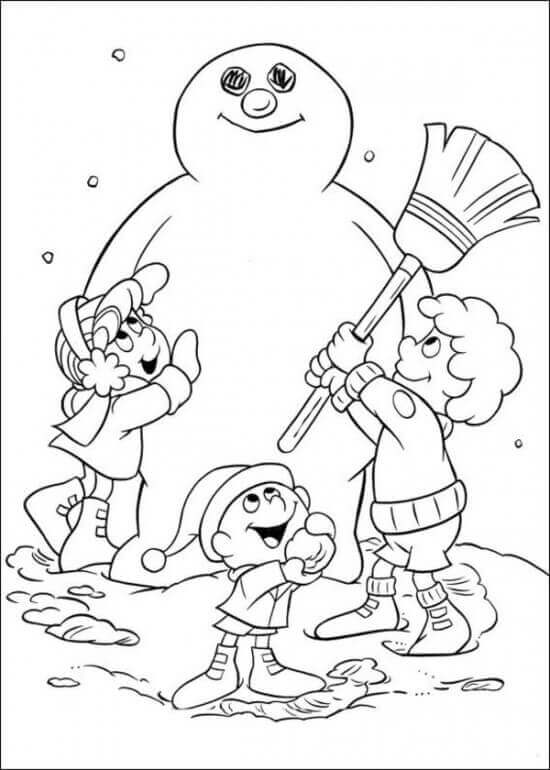 frosty the snowman printable coloring pages 27 free frosty the snowman coloring pages printable printable snowman pages the coloring frosty