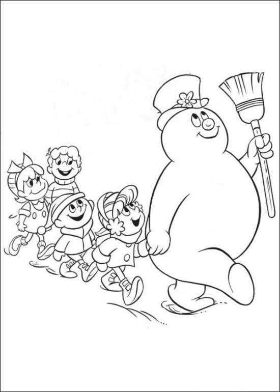 frosty the snowman printable coloring pages free printable frosty the snowman coloring pages best frosty the pages printable coloring snowman